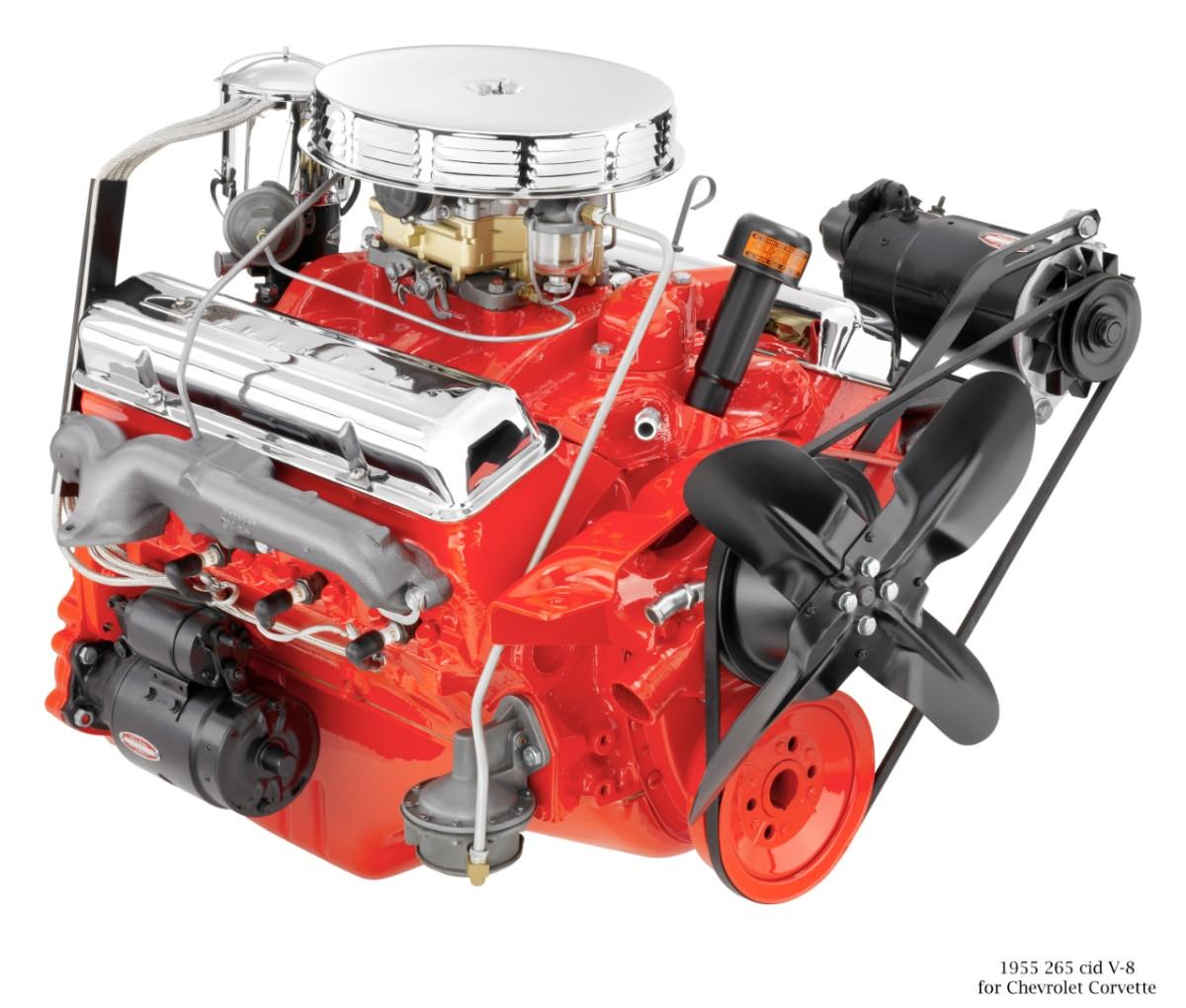 Small Block V 8 Is The Heart Of Chevrolet Corvette