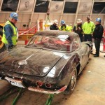 1962 Corvette Extracted from Sinkhole