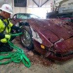 1993 Anniversary Corvette pulled from Sinkhole