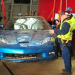 Blue Devil ZR1 Corvette emerges from Sinkhole!