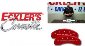 Corvette Caliper Covers  A Great C4, C5, C6 Or C7 Brake Option