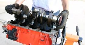 Crankshaft & Bearing Removal