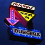 Triangle-burgers