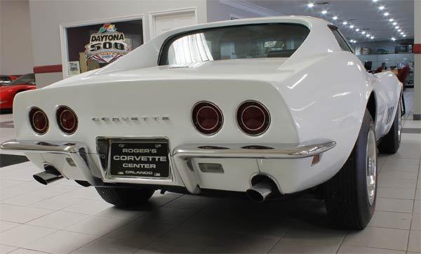 1968 L88 Corvette rear