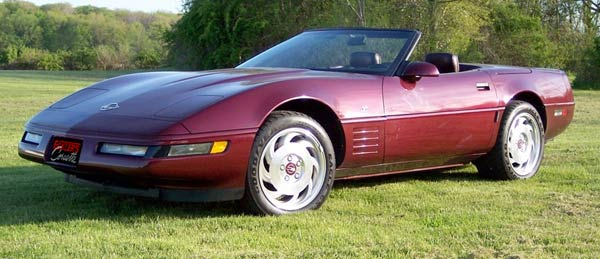 1993 40th Anniversary Corvette