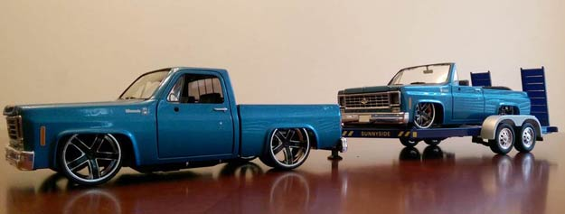 Chevy-Truck-scale-model