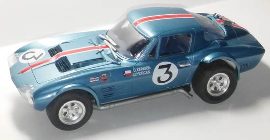 Corvette-model-car