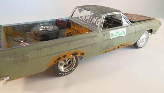 El-Camino-model-car